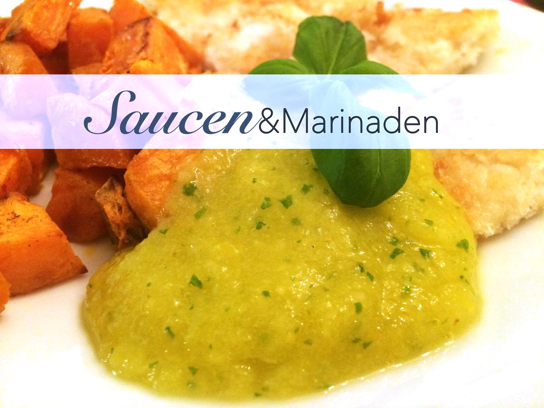 Saucen und Marinaden