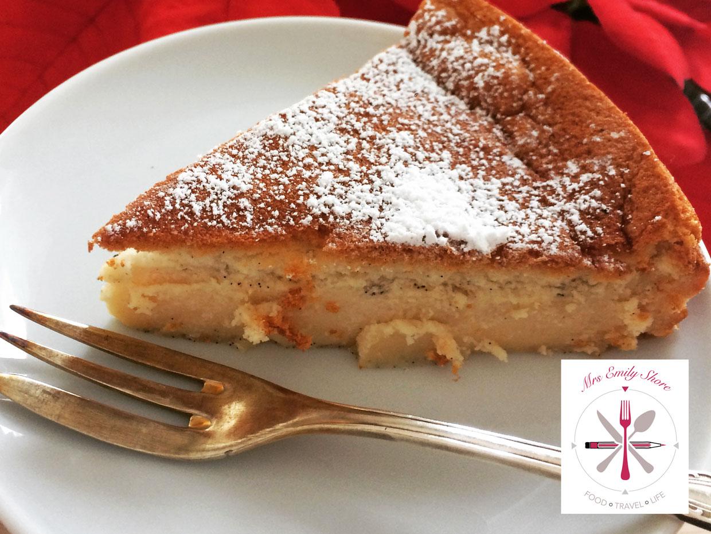 Vanille Pudding Kuchen