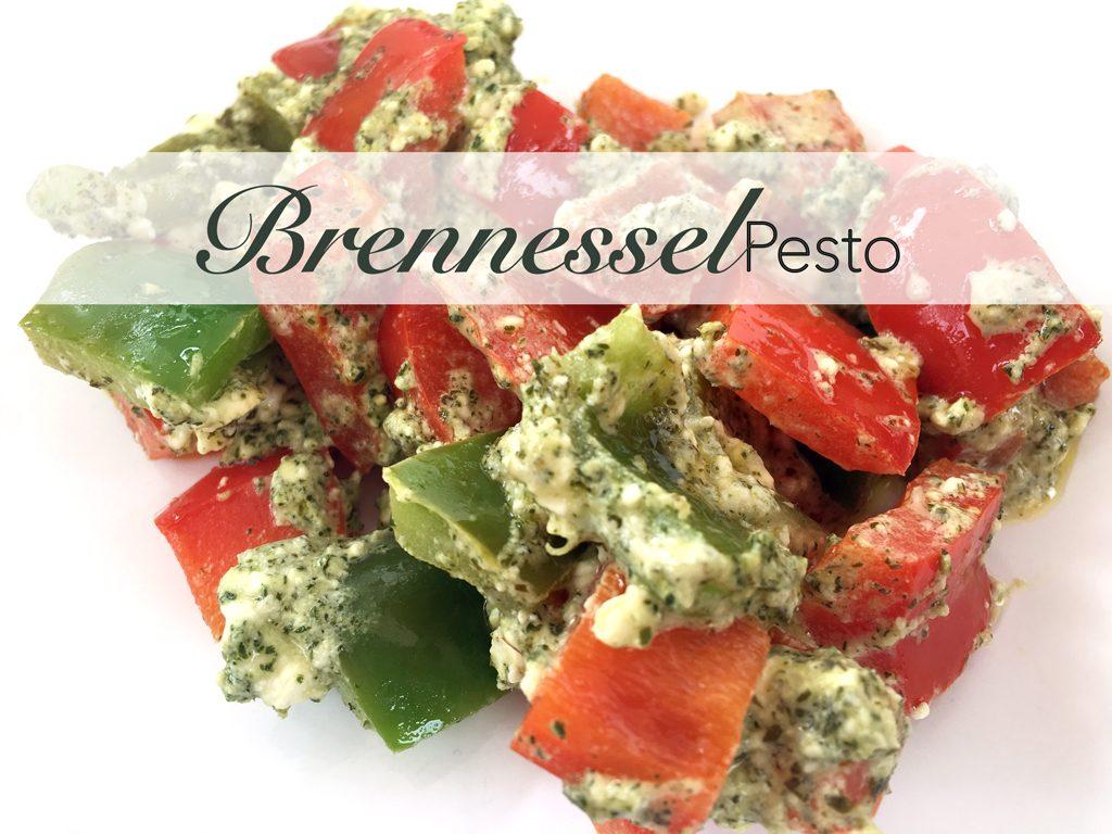 Brennesselpesto, Pesto, Grillgemüse, Brennessel, Teutoburger, Ölmühle