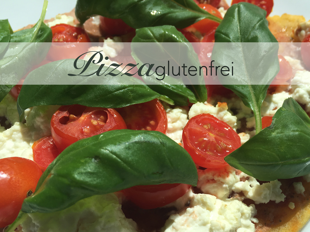 glutenfreie Maismehl Pizza