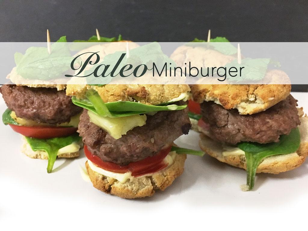 Gesunde paleo Miniburger! Gesund ins neue Jahr Starten!