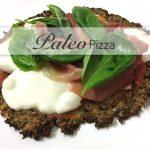 Paleo, Pizza, Paleopizza, low, Carb, Primal, Blumenkohl, Chiasamen, Mandeln, Kokos