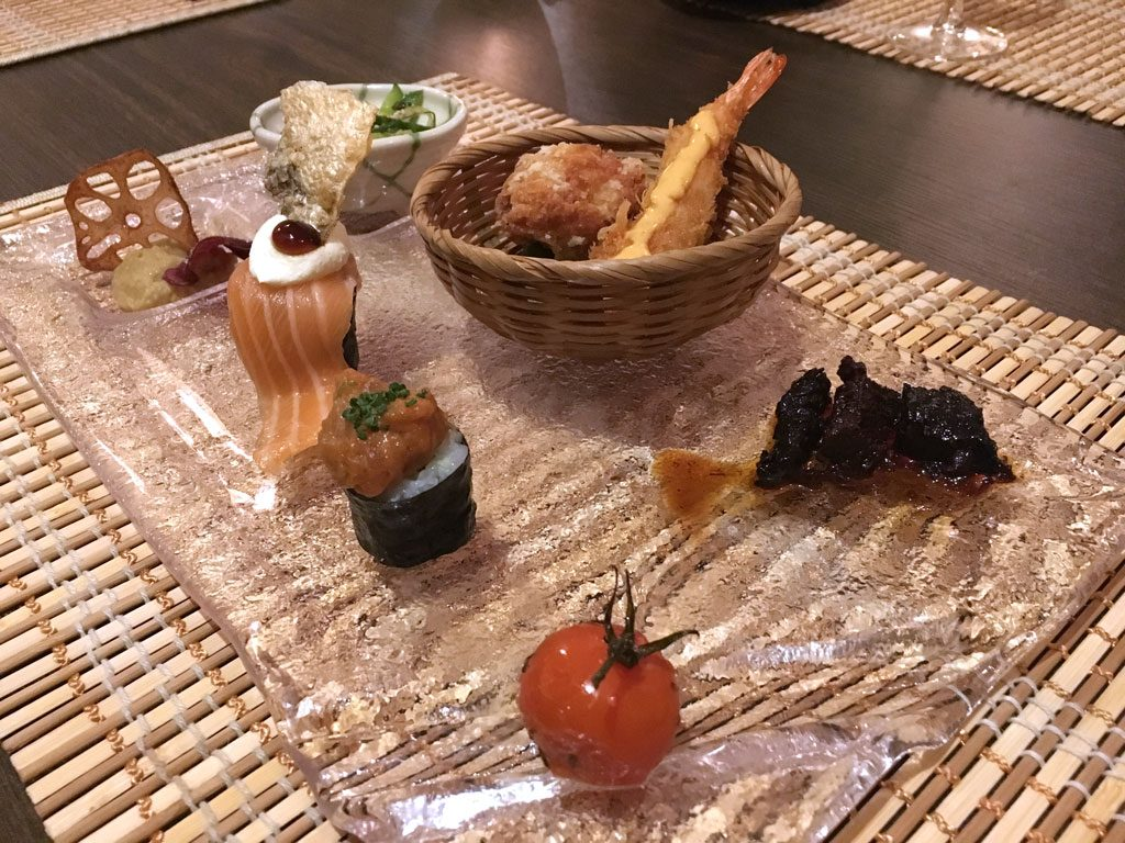 Hiro Buxheim. Bentobox Menue. Japanisch essen in Bayern.