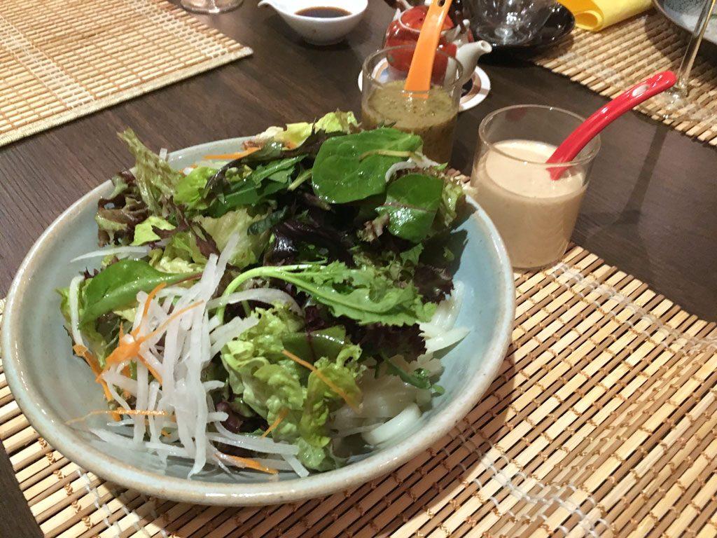 Hiro Buxheim. Udon Salat. Japanisch essen in Bayern.