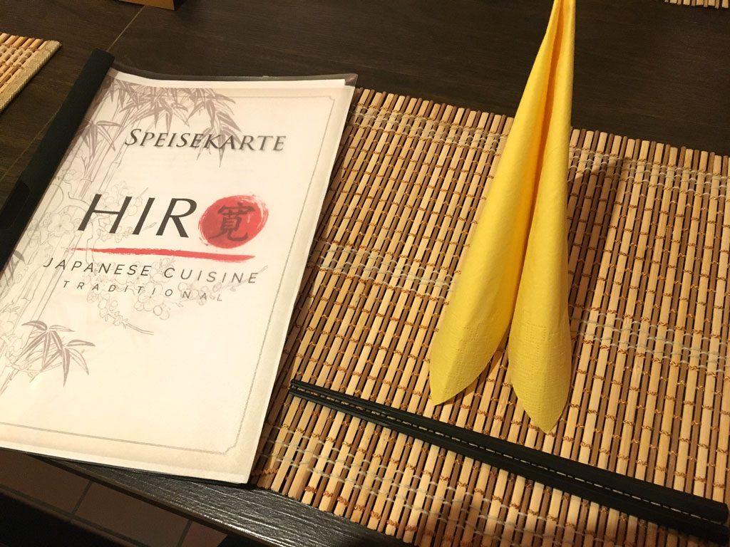 Hiro Buxheim. Japanisch essen in Bayern.