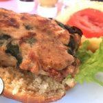 Bärlauchburger aus Weißwurst