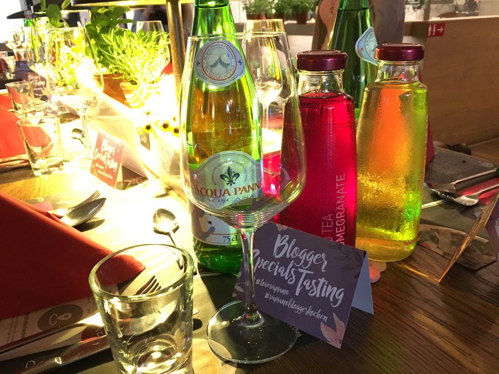 Blogger Specials Tasting in Pasing zum Vapianomenü Mai und Juni mit Aperitif