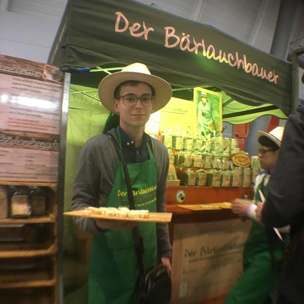Marktdesgutengeschmacks 2017 in Stuttgart Messe mit der Slowfood