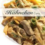 Hähnchen Curry aus dem Wok