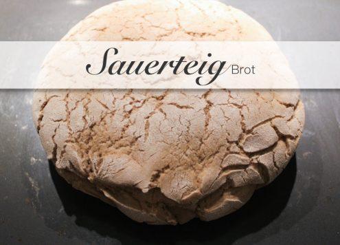 Frisches Sauerteigbrot aus Roggenmehl