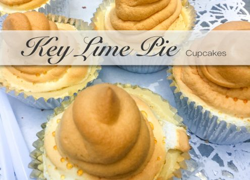 Key Lime Pie als Cupcakes