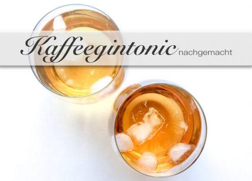 Gintonic mit Kaffeelikör Das Sommergetränk 2018