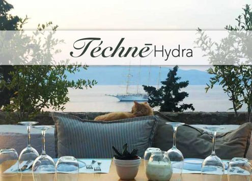 Hydra Island Greece Techne Restaurant Fusion
