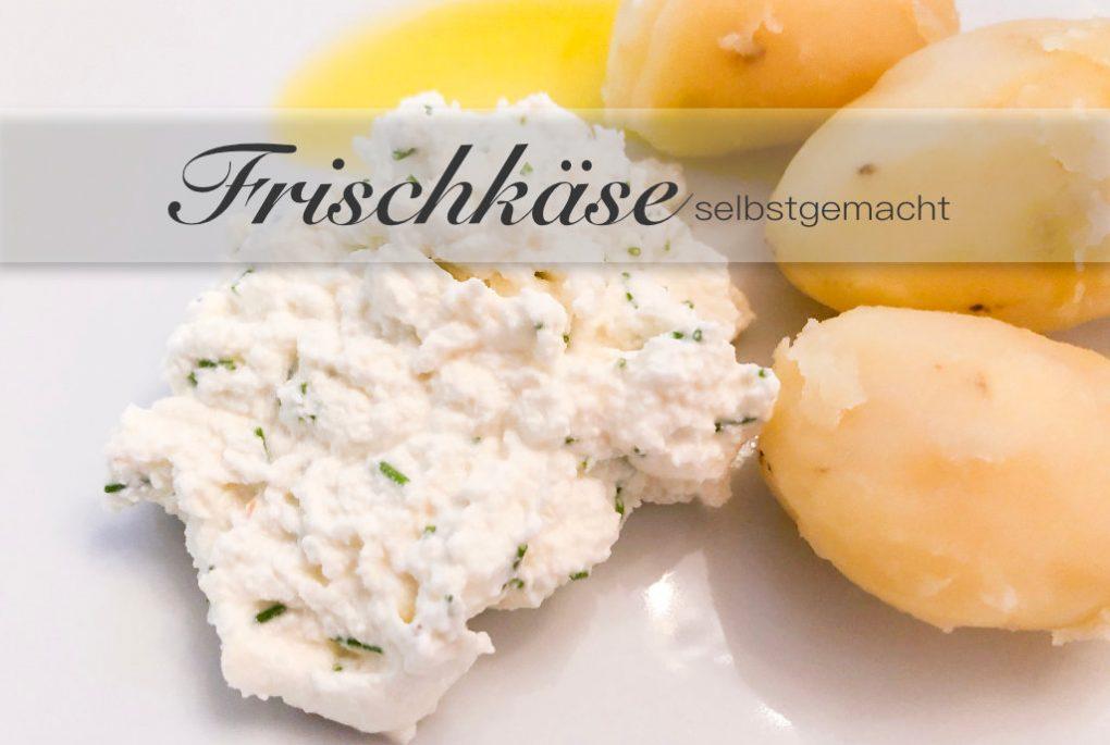 Frischkäse aus Frischmilch ganz einfacher mit nur einer Zitrone herstellen!