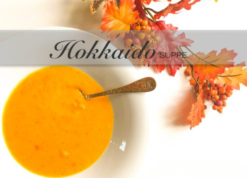 Herbstliche Hokkaidosuppe