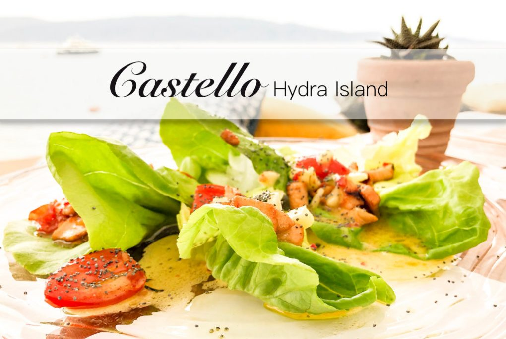 Castello Hydra Griechenland Greece