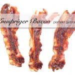 Perfekt gebratener und knuspriger Bacon