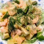 Avocado Garnelen Sommer Salat